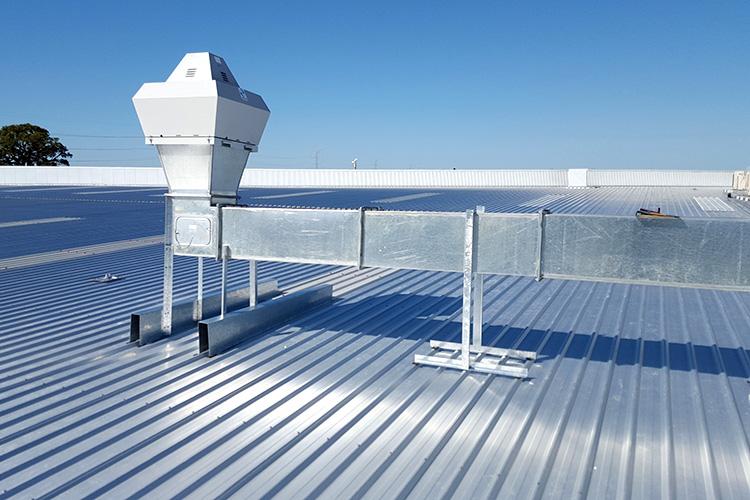 Climaestrat, instalación de conductos de aire.